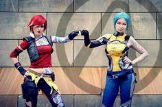 Borderlands: Lilith and Maya #cosplay