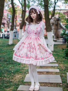 #LolitaUpdate: [-✿-Sweet Classical Lolita JSK-✿-] for 2017 Spring