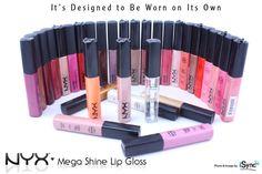 "2 NYX MEGA SHINE LIP GLOSS ""Pick ANY 2 Colors!""   eBay"