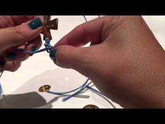 Pulsera de Comunión con Nudo de Serpiente - YouTube
