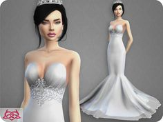 Colores Urbanos' Wedding Dress 8 (original mesh)