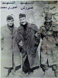 Les Martyrs Ali Nemr, Amirouche & Amouri Mohamed