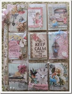 Scraps to Beauty by Zandra: My First Pocket Letter~Blue Fern ...