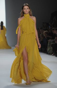 I do love flowy.  This color is growing on me.  Elie Saab Spring 2012