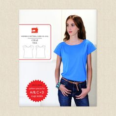 Chai Tee Sewing Pattern by Liesl and Co at Hawthorne Supply Co