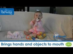 Parents and caregivers, watch this to see 6 sensory milestones baby should reach by 6 months old. #WatchThisWednesday