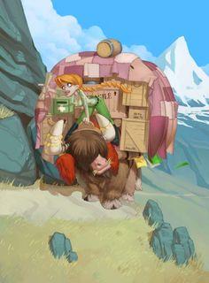 Isla Dorada Funforge Game Concept Art 2