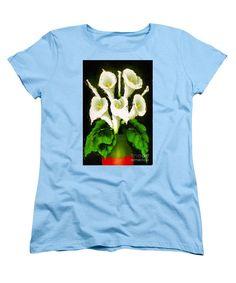 Women's T-Shirt (Standard Cut) - Abstract Flower 079