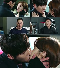 One of my favorite moments in the Kdrama, Healer - the look on her dad's face when he kissed her! Priceless....