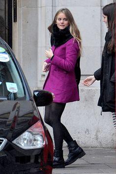 Cressida Bonas (aka, Prince Harry's girlfriend) wears combat boots.