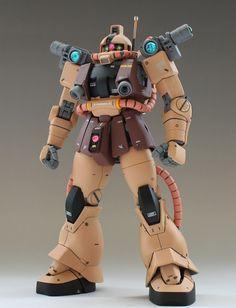 趣味のお話 — gunjap: 1/100MS-06E Zaku Recon: Latest...