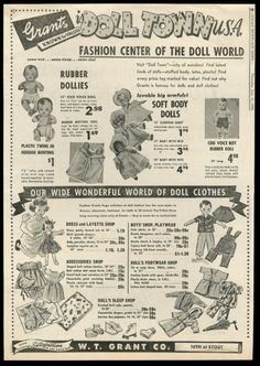 1960s W T Grant Department Store Grants Vintage Credit