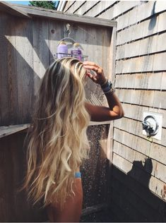 - Best ideas for decoration and makeup - Summer Hairstyles, Pretty Hairstyles, Wedding Hairstyles, Surfer Hair, Waist Length Hair, Brown Blonde Hair, Beach Blonde Hair, Beachy Hair, Aesthetic Hair