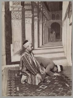 Mosulmans en prière
