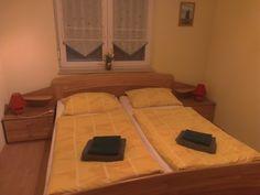 Ferienhaus Arkona auf Rügen - Schlafzimmer im Erdgeschoss