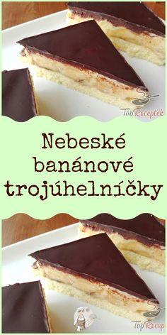Czech Recipes, Ethnic Recipes, Baking Recipes, Healthy Recipes, Sweet Pie, Tiramisu, Cheesecake, Deserts, Pudding