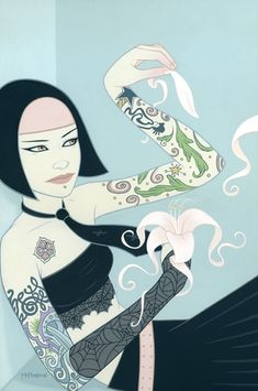 Beautiful Illustration by Tara McPherson