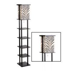 Zebra Shelf Floor Lamp Home Decor I Like Floor Lamp