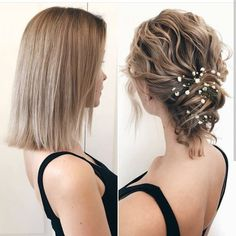 What's the Difference Between a Bun and a Chignon? - How to Do a Chignon Bun – Easy Chignon Hair Tutorial - The Trending Hairstyle Cute Prom Hairstyles, Trending Hairstyles, Easy Hairstyles, Hairstyle Ideas, Medium Hairstyles, Bridal Hairstyles, Wedding Hairstyle, Short Hair Updo, Short Wedding Hair