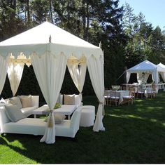 tent seating