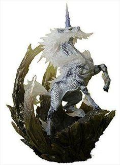 Original! 22cm high Capcom Monster Hunter X OL Ice Unicorn genuine