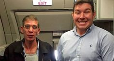 British Man Posts Contender For Most Inappropriate Selfie Ever -           Twitter     This man took a photo with a plane hijacker pretty much just for laughs.    In a stunt most people would think is out-of-your-mi...