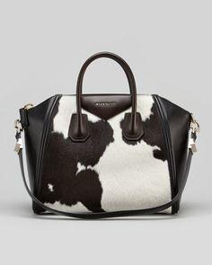 Givenchy - Antigona, Medium Cow Print Calf Hair Satchel - Bergdorf Goodman.