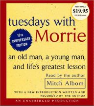 Tuesdays with Morrie: An Old Man, a Young Man, and Life's Greatest Lesson Author : Mitch Albom Pages : 4 pages Publisher : Random House Audio Language : eng : 0739311123 : 9780739311127 Free Books, Good Books, Books To Read, Tuesdays With Morrie, Books On Tape, Mitch Albom, Essay Questions, The Magicians