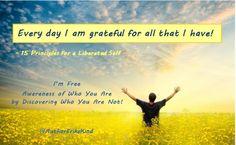 Gratitude causes happiness!