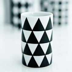Mori Mini Cup designed by Japan's most celebrated 20th Century ceramic designer, Masahiro Mori