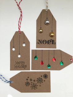 Limited Edition Holiday Gift Tags