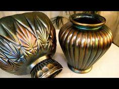 DIY | Iridescent Art Vase - YouTube