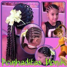 Resultado de imagen para peinados monik Art Of Beauty, Little Girl Hairstyles, Your Hair, Little Girls, Hair Styles, Fashion, Child Hairstyles, Hair, Hair