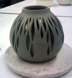Pierced vessel