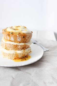 ... sublime passion fruit cake ...