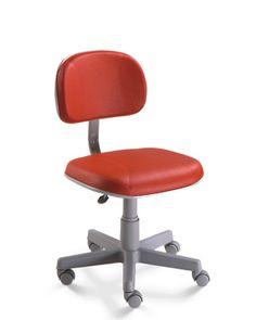 Cadeira Secretaria Base Cinza  Oferta de cadeiras secretária giratoria http://www.lynnadesign.com.br/produtos/cadeira-secretaria-base-cinza/