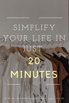Organization Life Quotes - Simplify Your Life In Just 20 Minutes Minimal Living, Simple Living, Personal Development Skills, Becoming Minimalist, Declutter Your Life, Positive Living, Minimalist Lifestyle, Life Organization, How To Stay Motivated