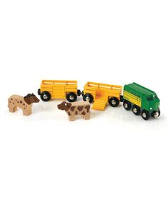 Look what I found on #zulily! Farm Train #zulilyfinds