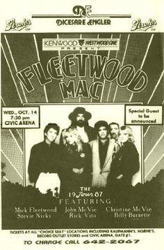 Fleetwood Mac Christine McVie Live Civic Arena 1987 11x17 Rare Very Limited Concert Poster Print Only One on Amazon by Mypostergallery, http://www.amazon.com/dp/B007PH6QNG/ref=cm_sw_r_pi_dp_bxoQrb1KYG329