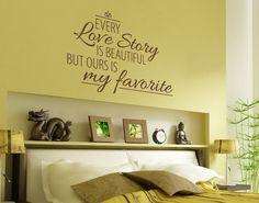 My favorite... #Love #Story #Wandtattoo