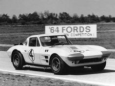 Penske-Hall Corvette GS at Sebring 1964