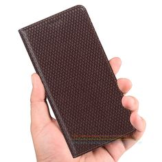 """Luxury Business Genuine Leather KickStand Case For Lenovo S8 A7600 5.5"""" Mobile Phone Invisible Magnet Flip Cover Case"""