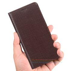 "Luxury Business Genuine Leather KickStand Case For Xiaomi Mi5 / Mi 5 Pro 5.15"" Phone Invisible Magnet Flip Case & 1 Card Slot"