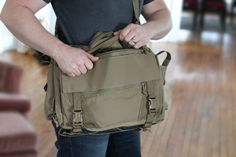 ITS Tactical Discreet Messenger Bag 2 my EDC bag. Lots of storage and easy to organize. Emergency Preparedness Food Storage, Emergency Bag, Survival Prepping, Survival Skills, Molle Backpack, Get Home Bag, Edc Bag, Edc Tactical, Camera Bags