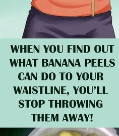 Many people throw away the banana peels because they are convinced that only the flesh contains the nutritional stuff. Lemon Water Diet, Banana Nutrition Facts, Banana Tea, Banana Peels, Bloating Remedies, Eating Bananas, Health World, Bloated Belly, Lose Weight
