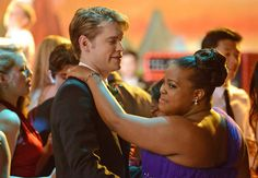 sam and mercedes.... they are so cute together!