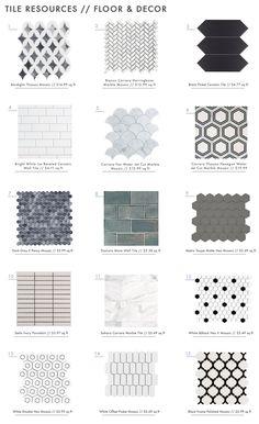 Decor Hacks : A Roundup of 18 Online Tile Resources – Emily Henderson Bathroom Interior Design, Decor Interior Design, Interior Decorating, Shower Remodel, Bath Remodel, Style Loft, Bathroom Floor Tiles, Home Depot Bathroom Tile, Floor Decor
