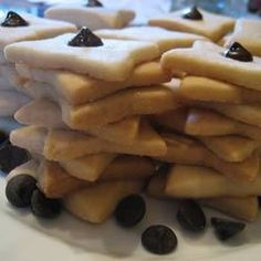 Looking for butter cookie recipes? Allrecipes has more than 230 trusted recipes for shortbreads, spritz, tea cookies, and other butter cookies. Scottish Shortbread Cookies, Shortbread Biscuits, Rolled Sugar Cookie Recipe, Butter Cookies Recipe, Baking Recipes, Cookie Recipes, Sweet Potato Waffles, Scottish Recipes, Tea Cookies