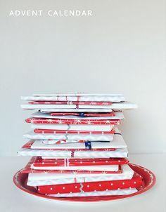 non traditional book advent calendar