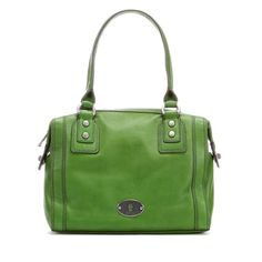 Trending: Fossil Marlow Satchel - Green | Maple & West